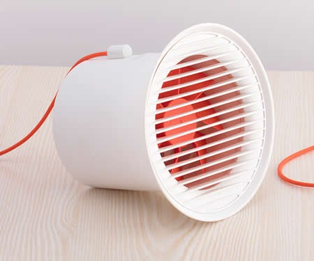 Portable Mini Table Fan with Twin Turbo Blades
