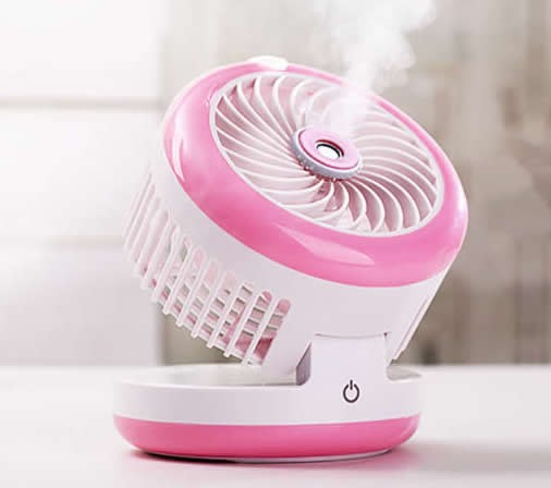 Portable Misting Personal Fan Humidifier