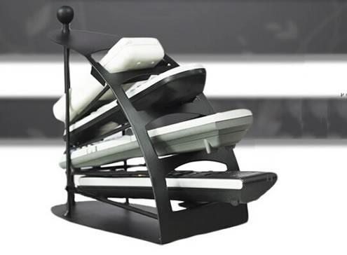 remote control table remote control organizer metal caddy feelgift