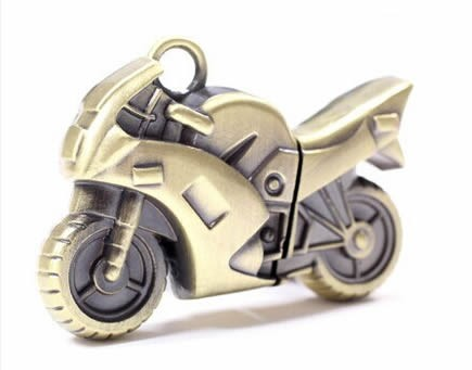 16G Retro Motorcycle Model Usb Flash Drive