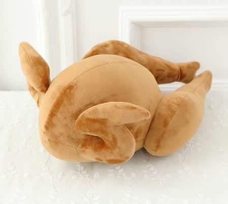 Roast Chicken Throw Pillow Back Cushion Pillow
