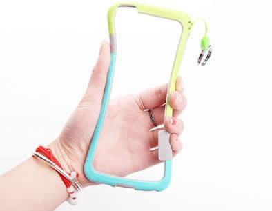 Silicone Bumper Frame Case for iPhone X/8/8 Plus/7/7 Plus/6/6 Plus/6S/6S Plus