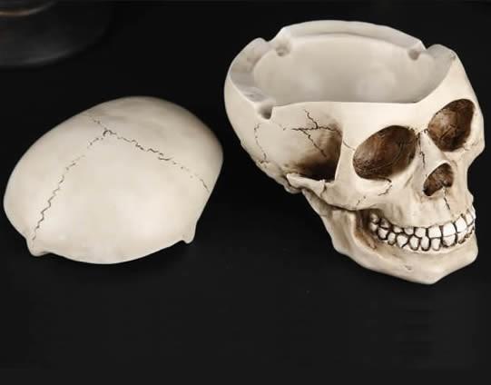 Skull Head Ashtray