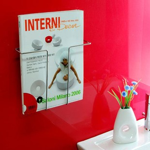 Suction Cup  File Holder and Magazine Rack