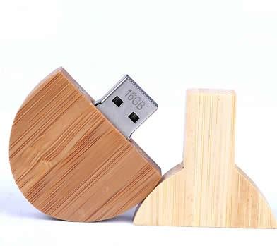 Table Tennis Racket  Bamboo Wooden  USB Flash Drive