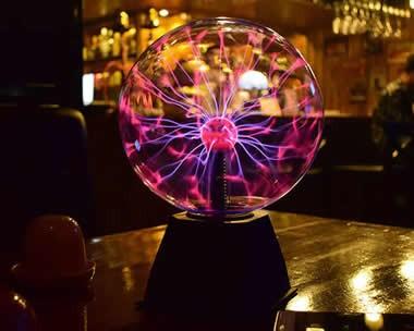 Plasma Ball Sphere Sound Control  Magic Light