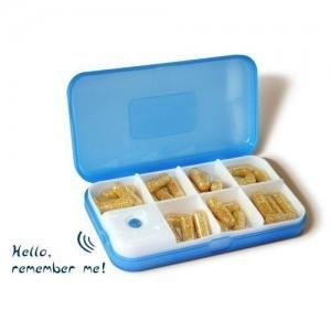 Alarm Vibration Reminder Pill box