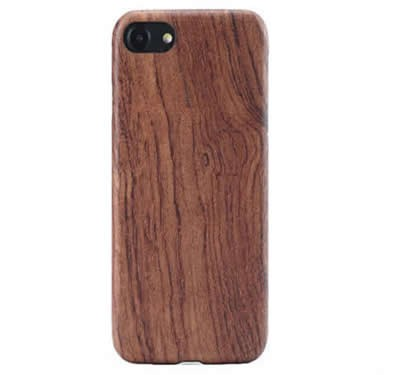 Walnut Wooden Drop Proof Slim Cover Case for iPhone 6/6S Plus iPhone7/7 plus