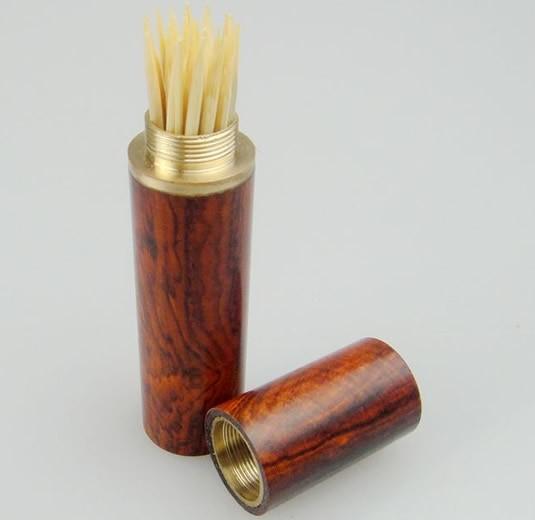 Cylinder Shaped Toothpick Holder
