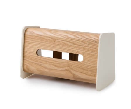 Wooden Vertical Tissue Box Cover