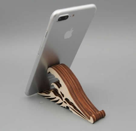 Wooden Universal Multi-angle Smart Phone Stand Mount Desk Holder