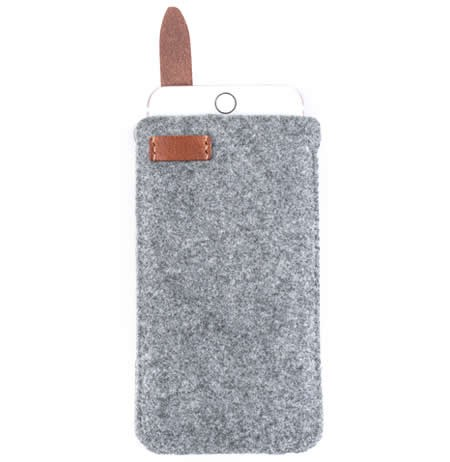 Wool Felt  Protective Sleeve Bag Pocket Pouch Case for iPhone Xs Max/XS/X/8/8 Plus