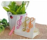 24pcs  Musical Note  Shape Paper Clips