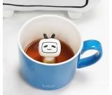 Cute 3D TV  Ceramic Coffee Cup