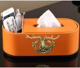 Exquisite fashion elk decoration tissue box remote control storage box