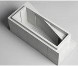 Classic industrial style concrete building office desktop storage box decoration
