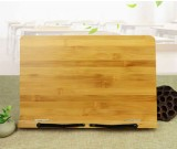 Simplicity Bamboo Wooden Book Stand Reading Stand Ipad Holder