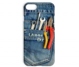 Funny Jeans Wrench Pliers Tool Pattern Iphone Phone Case
