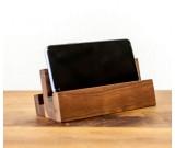 Creative Desktop Wooden Mobile Phone Holder Ipad Stand