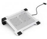 Aluminum alloy  Laptop Cooling Pad For 11-15 inch Apple MacBook & PC Laptop