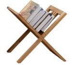 Wooden Floor Bookshelf