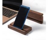 Black Walnut Portable Wooden Smartphone Holder