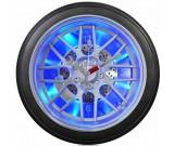 "14"" Blue LED Tire Wall Clock,Desk Clock"