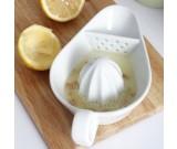 Ceramic Citrus Lemon Juicer with Strainer