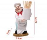 Chef Toothpick Holder Basket