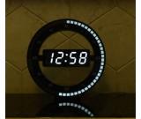 Circular Large LED Digital Wall Clock