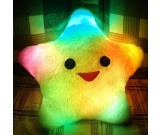 LED Lighted Glow Pillow-Lucky Star