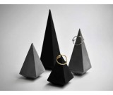 Concrete Cone Ring Display Stand Organizer Holder 4PCS Different Size