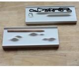 Concrete Jewelry Tray Showcase Display Organizer