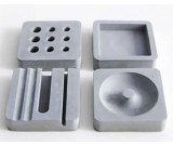 Concrete Smart Phone Dock Stand Desk Organizer Office Accessories Set – 4 Piece Set