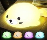 Cute Seal USB Rechargeable Children Night Light