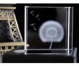Dandelion Crystal Cube