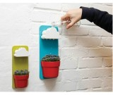 DIY  Wall-mounted Rain Clouds Planters