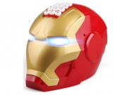 Electronic Iron Man Password Piggy Bank Cash Coin Can Auto Scroll Paper Money Saving Box