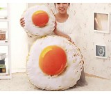 Fried Egg Style Throw Pillow