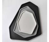 Geometry Concrete Jewelry Tray Showcase Display Organizer