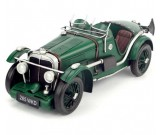 Handmade Antique Model Kit Car 1933 MG K3 Magnette Race Car