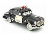 Handmade Antique Model Kit Car - Cartoon Police Car