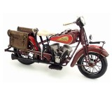 Handmade Antique Model Kit Motorcycle-1936 US Indian Motorcycle
