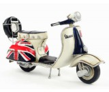 Handmade Antique Model Kit Motorcycle-1965 VESPA  Motor Scooter