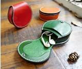 Handmade Leather Earphone Case