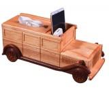 Wooden Classic Car Tissue Box