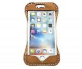 Handmade Genuine Leather Back Case Cover  For Iphone 6/6S/6Plus/6S Plus/7/7Plus/8/87Plus