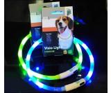 Led Flashing Light Up Dog Neck Loop