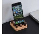 Lego  Natural Wooden Mobile Phone Stand  Cell Phone Holder