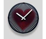 Motion Clock-Modern Black Large Big Atomic Analog Decorative Wall Clock